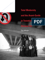Total Modernity and the Avant-Garde in Twentieth-Century Chinese Art (Art eBook)