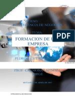 Formacion de Una Empresa