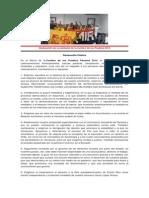 Declaración de Juventudes de La Cumbre de Los Pueblos 2015
