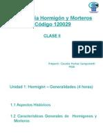 Clase 2 - Hormigón, Generalidades.ppt