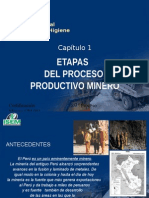 ETAPA DEL PROCESO PRODUCTIVO MINERO