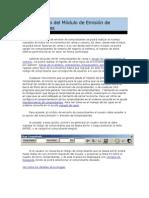 Manejo y Uso del Módulo de Emisión de Comprobantes.docx
