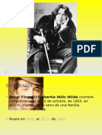 Oscar Wilde Biografia y Obra