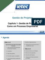 Cap Tulo 1 Gest o de Projetos Como Um Processo Empresarial