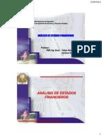 Analisis de Estado Financieros 3 2014 I