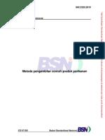 SNI 2326-2010 Metode Pengambilan Contoh Produk Perikanan