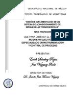 Tesis Diseño e Implementación de Un Sistema de Acondicionamiento de Señales Emg