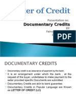 Letter of Credit Fin 441 Ppt 3