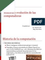 Historia y Evolucion Computadoras