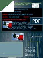Linea Del Tiempo Ultimo Tramo 1929-2000