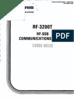 Harris RF-3200T Users Guide