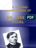 Chapter 21 the Second Homecoming of Rizal