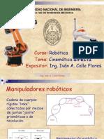 Robotica - Cinematica Directa