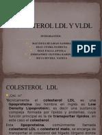 Colesterol Ldl y Vldl