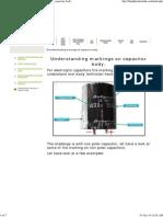 Understanding Markings on Capacitor Body