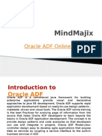 Live Oracle Application Development Framework (ADF) Traning