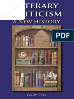 Literary Criticism a New History