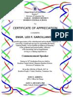 Certificate of appreciation judges final certificate of appreciation yadclub Gallery