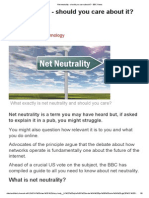 Net Neutrality - Should You Care About It_ - BBC News
