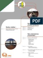 SPAC Grands Projets - Plaquette Métallerie