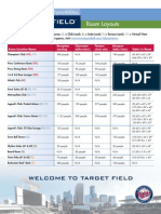 2 - Target Field - Room Specifications and Capacities