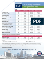 3 - Target Field - Facility Rental Rates