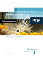 D-Water Quality Input File Description