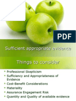 Sufficient Appropriate Evidence_a Link in m1_2012