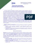 Unidad 2da - Desarrollo Sustentable y Extraccion de Recursos
