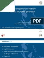 2014 en Nguyenthanhlam Pep Informationsveranstaltung Vietnam Bioenergie