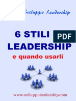 6 Stili Di Leadership