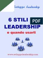 6 Stili Di Leadership