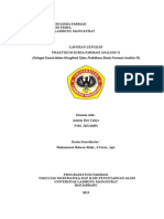 Format Laporan Lengkap Kfa 2