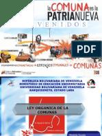 LEY ORGANICA DE LAS COMUNAS.ppt