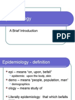 Epidemiology PowerPoint Ajb