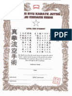 Certificate for Club