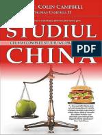Studiul China - Colin Campbell