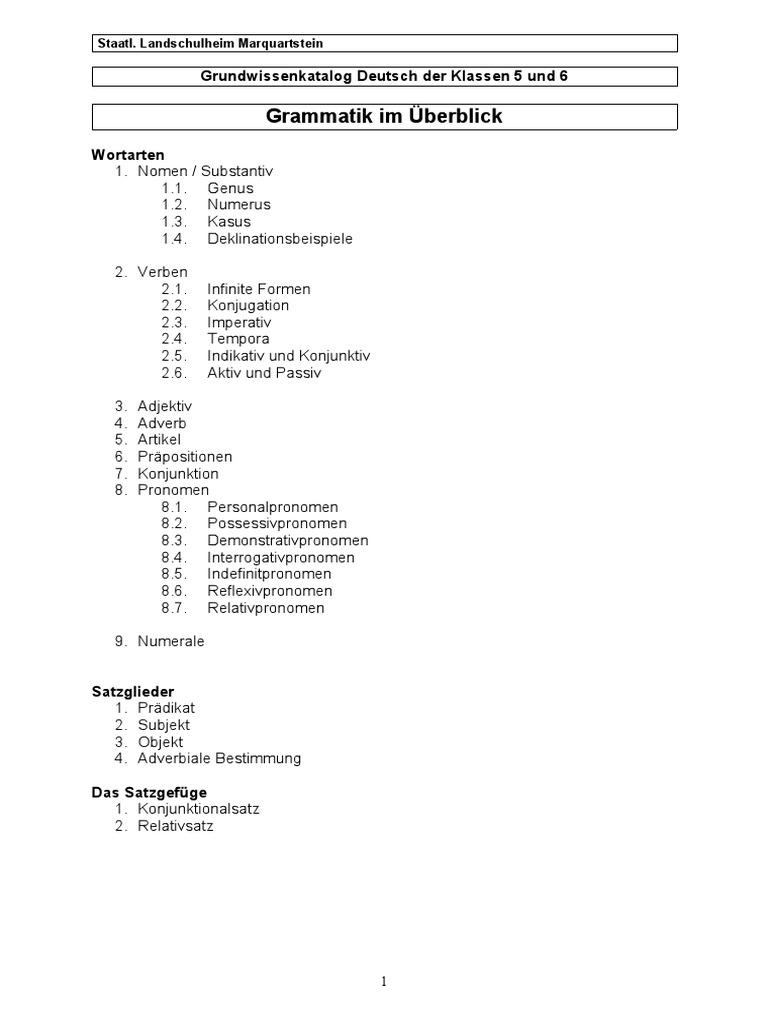 Grundwissen d 05-06 Grammatikuebersicht