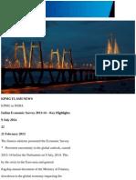 India Economic Survey 2013 14 Key Highlights Conve