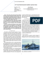 Signal Processing for AUV Based Interferometric Synthetic Aperture Sonar
