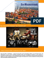 """Das Historische Festspiel """"Der Meistertrunk"""" in Rothenburg ob der Tauber 2015"""