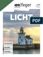 LICHT - Ausgabe 5 2015 des strassenfeger