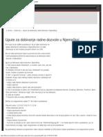Upute Za Dobivanje Radne Dozvole u Njemačkoj _ Bhzoom.net