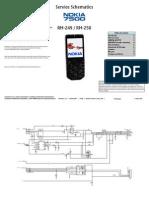 Nokia 7500 Rm-249, Rm-250 Service Schematics