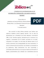 La Gran Hipocresia de Los Grandes Medios de Informacion y Persuasion Los Casos Lagarde y Galeano V0394 DEF Edit DR 17.04.15