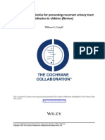 Long-term Antibiotics for Preventing Recurrent Urinary Tract