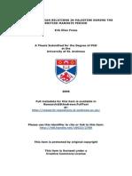 Freas Phd Muslim Christian Relations in Palestine