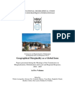 Geographical Marginality as a Global Issue-2010-Contents