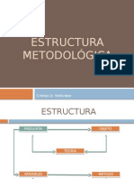 Estructura metodológica TCC