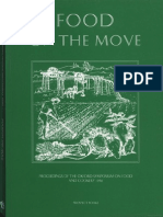 Food on the Move Proceedings of the Oxford Symposium on Food and Cookery 1996